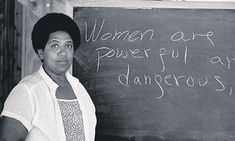 """Sister Outsider by Audre Lorde: If nothing else, read these three contributions to this collection: """"Poetry is Not a Luxury,"""" """"Man Child: A Black Lesbian's Feminist Response,"""" and """"The Master's Tools Will Never Dismantle the Master's House."""