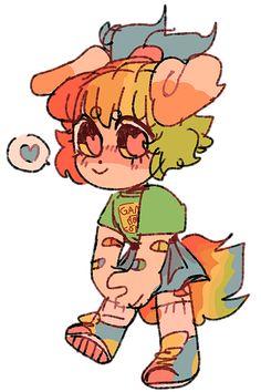 Oc Drawings, Kawaii Drawings, Cute Drawings, Cute Art Styles, Cartoon Art Styles, Epic Art, Kawaii Art, Pretty Art, Character Design Inspiration