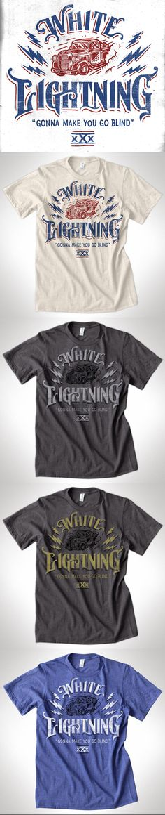 c664938b1 lightning-tee-mock-all.jpg by Derrick Castle. Design T ShirtTee ...