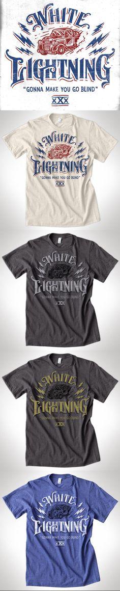 White Lightning - Gonna Make You Go Blind by Derrick Castle