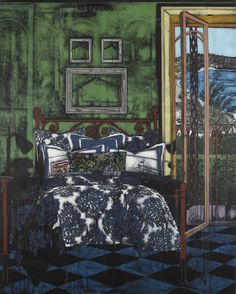 Jesper Christiansen (Danish, b. 1955), From Sketches of the Past, 2012. Acrylic, gesso and chalk on linen, 250 x 200 cm.