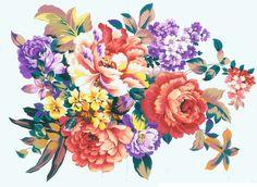 清新手绘素材花草图分享