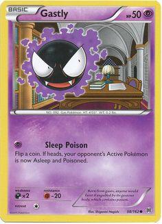 Gastly 58/162 Pokemon TCG: XY BREAKthrough Pokemon Card #pokemon #pokemontcg #generations