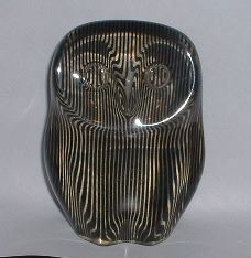 This Owl won an International Art Award in 1980.