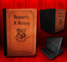 Harry Potter inspired Hogwarts A History Leather Case For iPad Mini on Etsy, $30.00