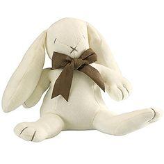 Maud N Lil Luxury Designer Cuddly Bunny Organic Plush Rabbit Toy Ears Bunny (White) MaudNLil http://www.amazon.com/dp/B008KJGER6/ref=cm_sw_r_pi_dp_vvLfub0SS670A