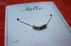 """I love this cute necklace.  The little beads represent a date.  It is called """"Date Necklace"""""""