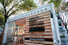 L-BOX,イベント,店舗,コンテナ Small Coffee Shop, Coffee Store, Shipping Container Cafe, Coffee Shop Aesthetic, Container Restaurant, Street Coffee, Cafe Concept, Shop Facade, Small Cafe Design