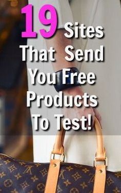 Products Who Doesnt Like Free Stuff? Heres 19 Sites That Will Send You Free Products To Try! Ways To Save Money, Money Saving Tips, How To Make Money, Money Tips, Earn Money From Home, Make Money Online, Paid Product Testing, Get Free Stuff, Money Matters