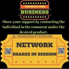 INVEST IN YOUR BUSINESS TODAY!! WE PROMOTE:  #BOUTIQUES PERSONAL PAGES WEIGHTLOSS PRODUCTS :MUSIC PAGES #COSMETICS PAGES MODELS PHOTOGRAPHERS HAIR STYLIST PAGES #NAIL SALONS  #BARBERS  #JEWELRY PAGES  #SHOE PLUG #WEDDING VENUE PAGES  #RESTAURANTS  #TATTOO ARTIST #MECHANICS #ARTIST  #BLOGGERS  START TODAY!! CREATE A BUZZ GAIN FOLLOWERS INCREASE WEB TRAFFIC INCREASE SALES (Mega Group Shares) -Posted 5k-50k Business Partner Pages  With Average  Of 5-12 Business Partners Per SHARE  #promo #b2b…