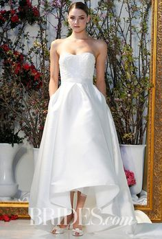 Finding the one—the perfect wedding dress—is where it all starts! Everything you need to know about wedding dress shopping is at your fingertips right here. Anne Barge Wedding Dresses, Spring 2017 Wedding Dresses, Wedding Dress Trends, Wedding Dress Shopping, Wedding Dress Styles, Spring Dresses, Bridal Dresses, Wedding Gowns, Bridesmaid Dresses