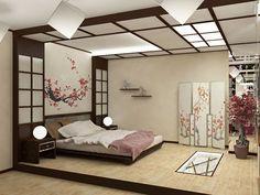 Japanese Inspired Bedroom, Japanese Style Bedroom, Japanese Interior Design, Japanese Design, Japanese Home Decor, Japanese Decoration, Japanese Furniture, Relaxing Master Bedroom, Rustic Master Bedroom