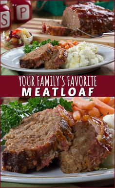 Say hello to Your Family's Favorite Meatloaf recipe! Beef Casserole Recipes, Ground Beef Casserole, Meatloaf Recipes, Chili Recipes, Healthy Ground Beef, Ground Beef Recipes For Dinner, Fun Easy Recipes, Easy Meals, Favorite Meatloaf Recipe