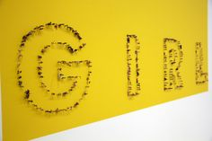 "A Look Inside Pharrell Williams' ""G I R L"" Exhibition at Galerie Perrotin"