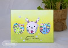 Taylored Expressions - You are Egg - ceptional* by Gayatri Murali. #easter #bunny #eggs #colorful #handmade #cardmaking #spring