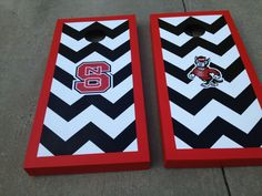 Because everyone woman needs her own set of corn hole boards...