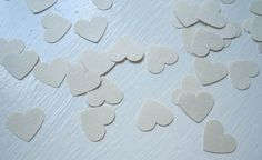 Items similar to White Hearts Confetti Count), Table Decor, Party Decor on Etsy Scrapbook Embellishments, For Your Party, Confetti, Special Events, Count, Hearts, Sweets, Shapes, Table Decorations