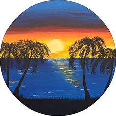 Full Color Wooden Dock in the Tropical Ocean Palm Trees Tiki Hut White Sand Jeep RV Camper Spare Tire Cover Black 35 in