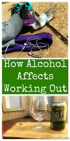 How Alcohol Affects Working Out