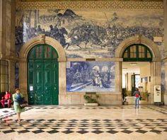 São Bento Station - Porto, Portugal - World's Most Beautiful Train Stations (Travel + Leisure)