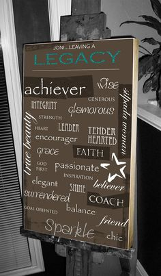 Retirement Gift Idea, Awards Ceremony Gifts, Personalized Corporate Gifts 18 x 30 Birch