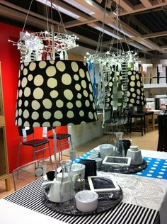 Use of textiles at IKEA Amsterdam