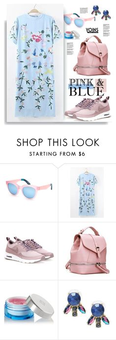 """Yoins.com: PinK&Blue"" by hamaly ❤ liked on Polyvore featuring TOMS, NIKE and Givenchy"