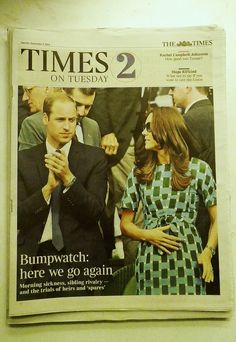 Bumpwatch: here we go again ~ 2nd child for the Duke and Duchess of Cambridge