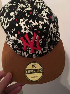 Ny yankees new york #snapback #graffiti #print,  View more on the LINK: http://www.zeppy.io/product/gb/2/282347875043/