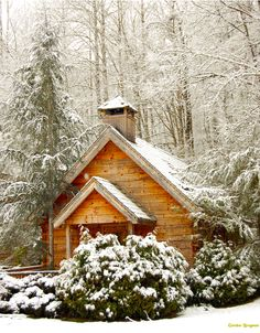 ***Chapel in the snow (Gatlinburg, Tennessee) by unity1968 E