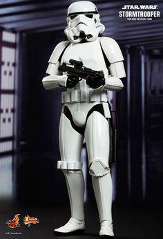 Figura soldado Stormtrooper 30 cm. Movie Masterpiece. Escala 1/6. Star Wars. Hot Toys Como fan de uno de las sagas más famosas del cine no puedes perderte esta figura de uno de los soldados imperiales Stormtrooper de 30 cm, 100% oficial, licenciada y de unidades limitadas.