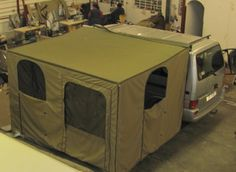 Camping Concepts - Western Cape, Cape Town, Tent Repairs, Manufacturing, Modifications, Covers, Canvas, Blinds, Camping Accessories, Cara-lines - Bakkie Tents and Awnings
