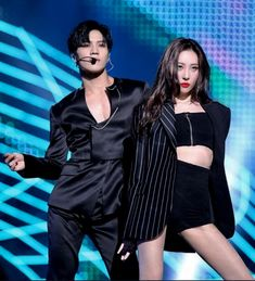 Taemin & Sunmi on stage MAMA2017 20171201