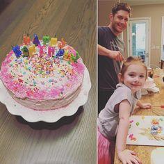 """59.1k Likes, 1,213 Comments - @danneelackles512 on Instagram: """"Happy Birthday to our best bud Thomas Padalecki. We love you soooo much!!!! #sharingcake ❤❤❤❤❤"""""""