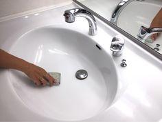3年もツヤピカが続く!コスパ最強の洗面コーティング | ほんとうに必要な物しか持たない暮らし◆Keep Life Simple◆〜インテリアのきろく〜 Clean Up, Housekeeping, Good To Know, Diy Tutorial, Cleaning Hacks, Life Hacks, Sink, Interior, Easy