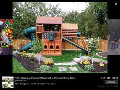 Big Backyard Lexington Wood Gym Set | Backyard playground ...