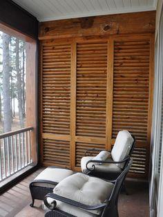 Porch Privacy Screen