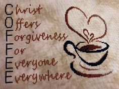 Cross Stitch Design C. Christ Offers Forgiveness for Everyone Everywhere - Cross Stitch - C. Christ Offers Forgiveness for Everyone Everywhere - Cross Stitch Learn Embroidery, Hand Embroidery Stitches, Embroidery Techniques, Cross Stitch Embroidery, Embroidery Patterns, Creative Embroidery, Modern Embroidery, Embroidery Ideas, Cross Stitch Designs