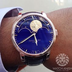 Arnold  Son HM Perpetual Moon | Watch Anish