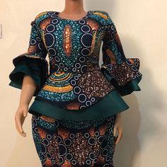 african fashion The Lastest Ankara Styles 2020 African Print Dress Designs, African Print Dresses, African Print Fashion, Ankara Designs, Latest African Fashion Dresses, African Dresses For Women, African Attire, Latest Ankara Styles, African Fashion Traditional