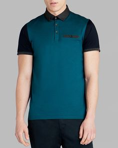 8b0f521cc1d Ted Baker Pinkman Color Block Polo