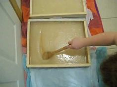 How to create Sugar (or Candy) Boards for honeybees. These sugar boards are given to the beehives in the fall as an addtional souce of food during the cold winter months. Some refer to these lids or other styles of sugar boards as 'bee insurance'.