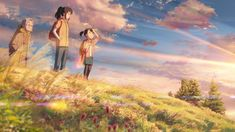 18 Beautiful GIFs that Show off the Breathtaking World of 'Your Name' – Madman Entertainment Kimi No Na Wa, Your Name Wallpaper, Your Name Anime, Beautiful Gif, Animation Background, Studio Ghibli, Me Me Me Anime, Haha, Scenery