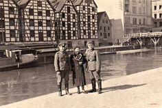 Spichrze nad Brdą - Muzeum Okręgowe im. Leona Wyczółkowskiego, Bydgoszcz - 1940 rok, stare zdjęcia