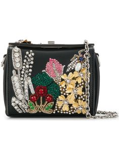 Alexander McQueen Bejewelled Box Bag 16 - Farfetch 21faf4367eb6f