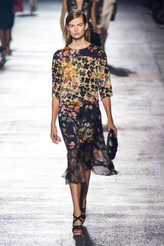 Défile Dries Van Noten Prêt-à-porter Printemps-été 2014 - Look 24