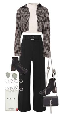 casual date outfit Glamouröse Outfits, Teen Fashion Outfits, Cute Casual Outfits, Polyvore Outfits, Stylish Outfits, Fall Outfits, White Outfits, Grunge Outfits, Aesthetic Fashion