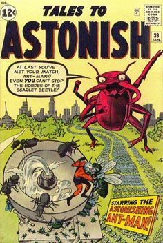 Scarlet Beetlemania: A megalomaniac insect bugs Ant-Man!