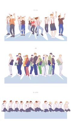 Seventeen   drawing   very nice   boom boom   don`t wanna cry   eras   dance   svt   fan art