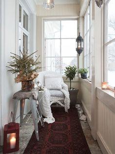 Annelivian Talon Joulu Saisonale Dekoration Wintergarten Balkon Wohnen Einfaches Weihnachten Winter